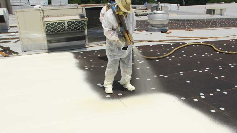 spray foam roof moncton